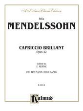 Capriccio Brillante, Opus 22: Piano Duo/Duet (2 Pianos, 4 Hands)