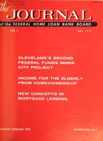 The Journal of the Federal Home Loan Bank Board PDF