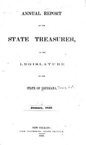 Report of the State Treasurer to the Governor, State of Louisiana