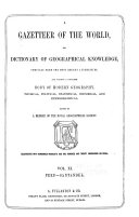 A Gazetteer of the World
