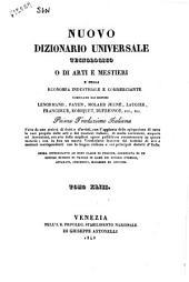 Nuovo dizionario universale tecnologico o di arti e mestieri e della economia industriale e commerciante compilato dai signori Lenormand, Payen, Molard Jeune... [et al.]: NIT-OEN. 43, Volume 43