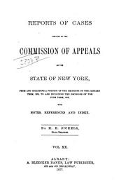 Reports of Cases Decided in the Court of Appeals of the State of New York: Volume 65