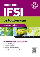 Concours IFSI Épreuves écrites Le tout-en-un: Édition 6