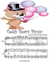 Teddy Bear's Picnic - Easy Piano Sheet Music
