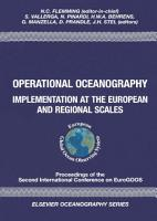 Operational Oceanography PDF