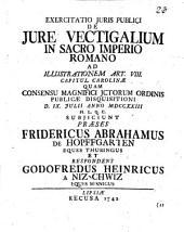 De iure vectigalium in S. R. Imperio