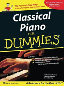Classical Piano Music for Dummies Book