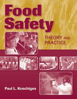 Food Safety  Theory and Practice PDF