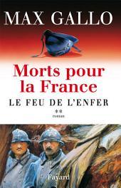Morts pour la France, tome 2: Le Feu de l'enfer
