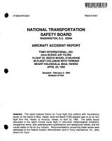 Aircraft Accident Report PDF