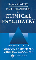 Kaplan   Sadock s Pocket Handbook of Clinical Psychiatry PDF