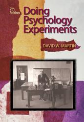 Doing Psychology Experiments PDF