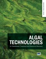 Algal Technologies for Wastewater Treatment and Resource Recovery PDF