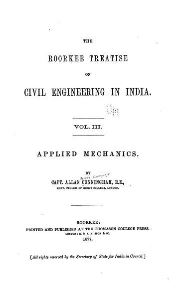 Applied Mechanics PDF
