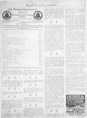 Michigan State Gazette PDF