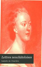 Lettres neuchâteloises: Mistriss Henley. Le noble