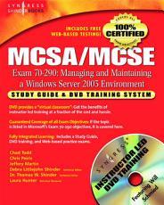 MCSA MCSE Managing and Maintaining a Windows Server 2003 Environment  Exam 70 290  PDF