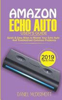 Amazon Echo Auto User's Guide