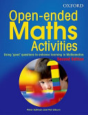 Open Ended Maths Activities PDF