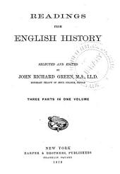 Readings from English History: Volume 2