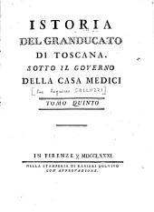 Istoria del granducato di toscana