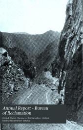 Annual report - Bureau of Reclamation: Issue 3