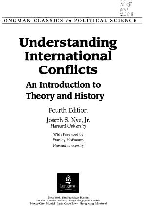 Understanding International Conflicts PDF