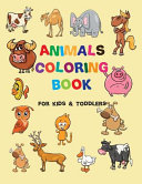 Animals Toddler Coloring Book Book