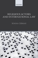 Religious Actors and International Law PDF