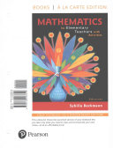 Mathematics for Elementary Teachers with Activities, Books a la Carte Edition Book