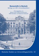 Romanistik in Rostock PDF