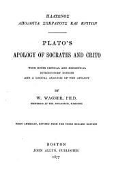 Plato's Apology of Socrates and Crito