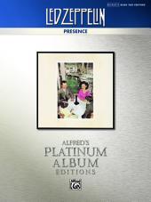 Led Zeppelin - Presence Platinum Bass Guitar: Authentic Bass TAB