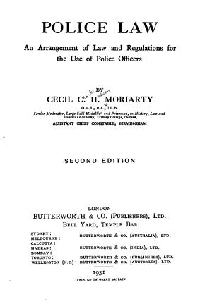 Police Law PDF