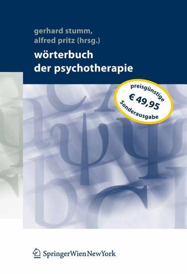W  rterbuch der Psychotherapie PDF
