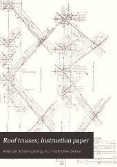 Roof trusses: instruction paper