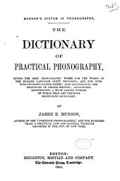 The Dictionary of Practical Phonography