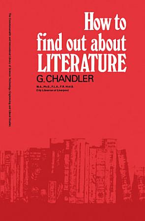 How to Find Out About Literature PDF