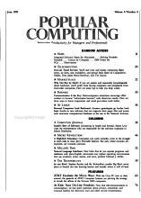 Popular Computing PDF