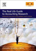 The Real Life Guide to Accounting Research PDF