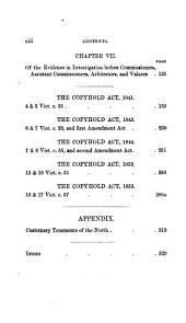 A Treatise on the Law and Practice of Copyhold Enfranchisement: With the Forms Authorized by the Copyhold Commission, and All the Statutes