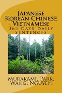 365 Days Japanese Korean Chinese Vietnamese