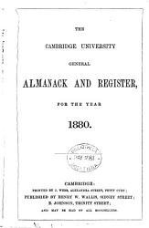 The Cambridge University General Almanack   Register for the Year     PDF