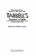 Tarbell's Teacher's Guide