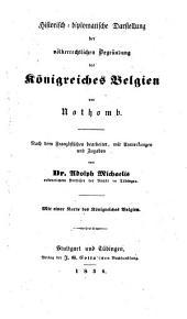Essai historique et politique sur la révolution belge
