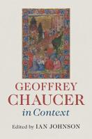 Geoffrey Chaucer in Context PDF