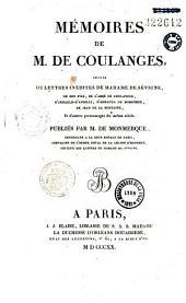 Mémoires de M. De Coulanges