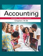 Accounting, Chapters 14-26: Edition 27