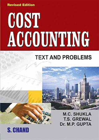 Cost Accounting  Text and Problems PDF