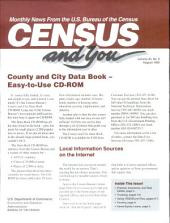 Census and you: monthly news from the U.S. Bureau of the Census, Volume 30, Issue 8